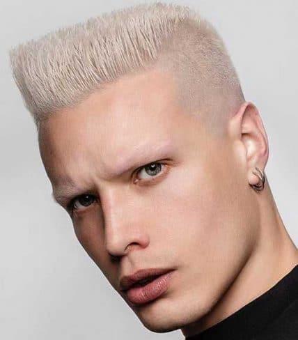 Short Men's Hairstyles - Flat Top