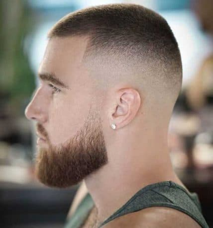 Hairstyles For Men With Short Hair - High And Tight