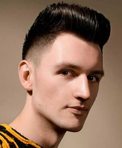 Short Hairstyles For Men - High-Top Fade