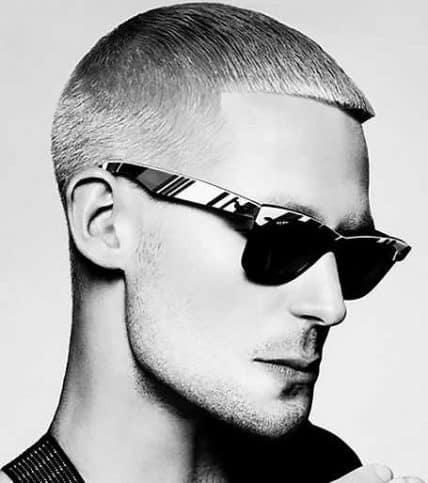 Short Hairstyle For Men - Short Caesar Cut