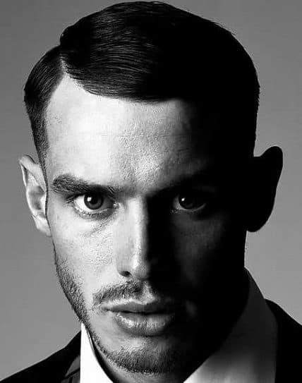 Short Haircut For Men - Short Comb-Over