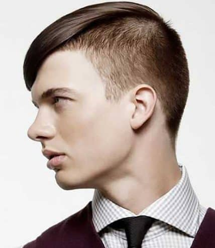 Short Haircuts For Men - Man With Short Disconnected Undercut