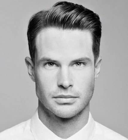 Hairstyles for men with short hair  - Short Side Part Style