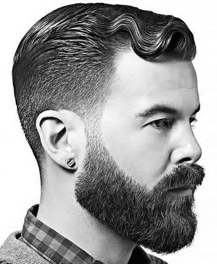 Short Hairstyles For Men - Short Style With Finger Waves